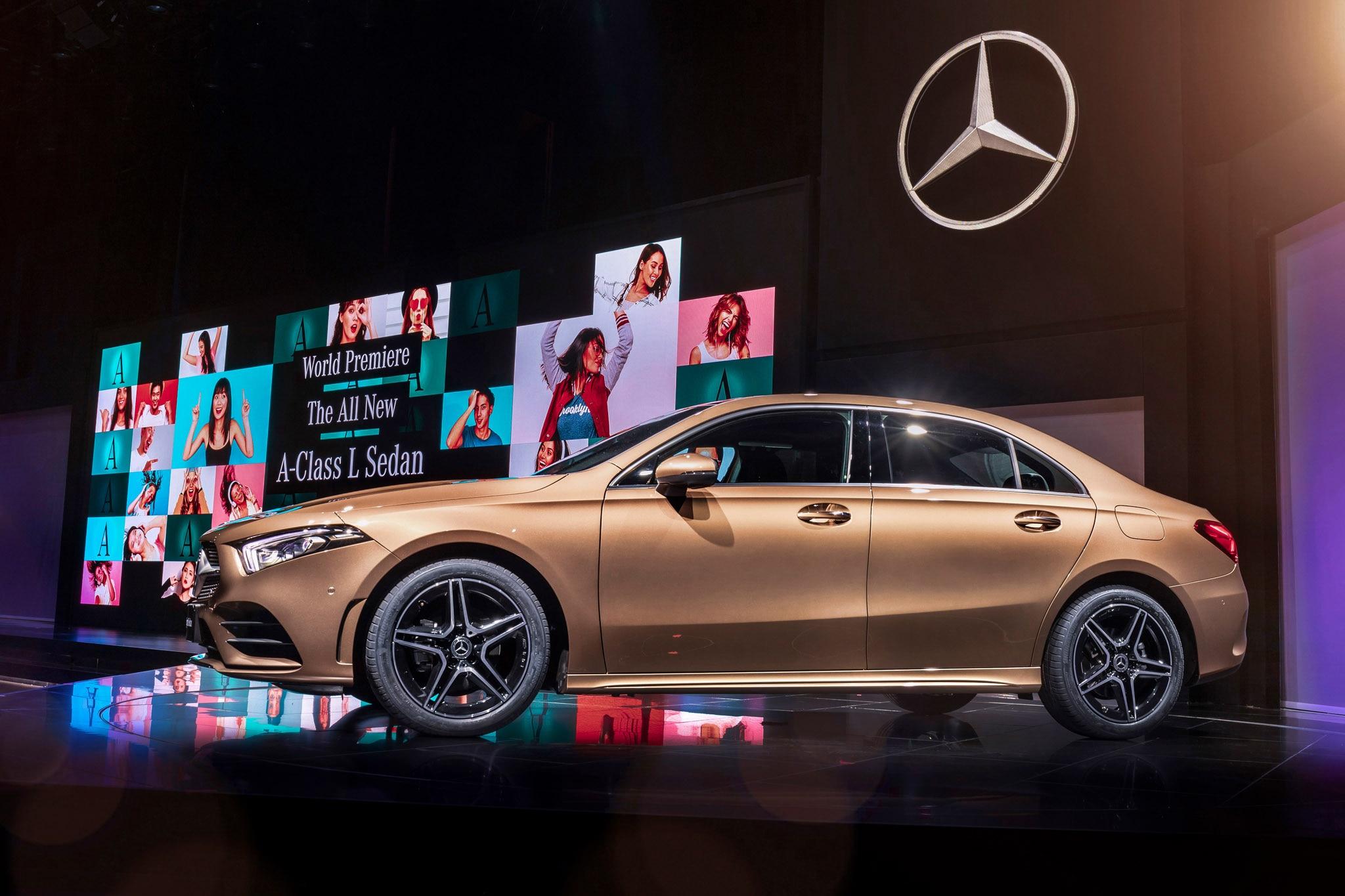 Mercedes Benz A Class L Saloon Reveal_129