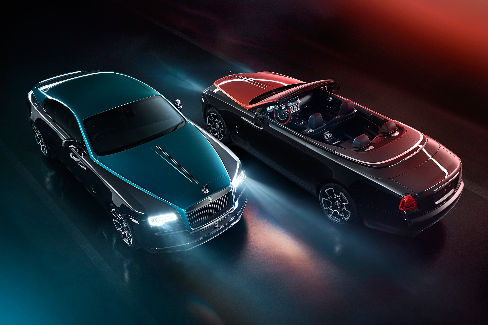 Rolls-Royce Wraith And Dawn Adamas Black Badge Collection Revealed