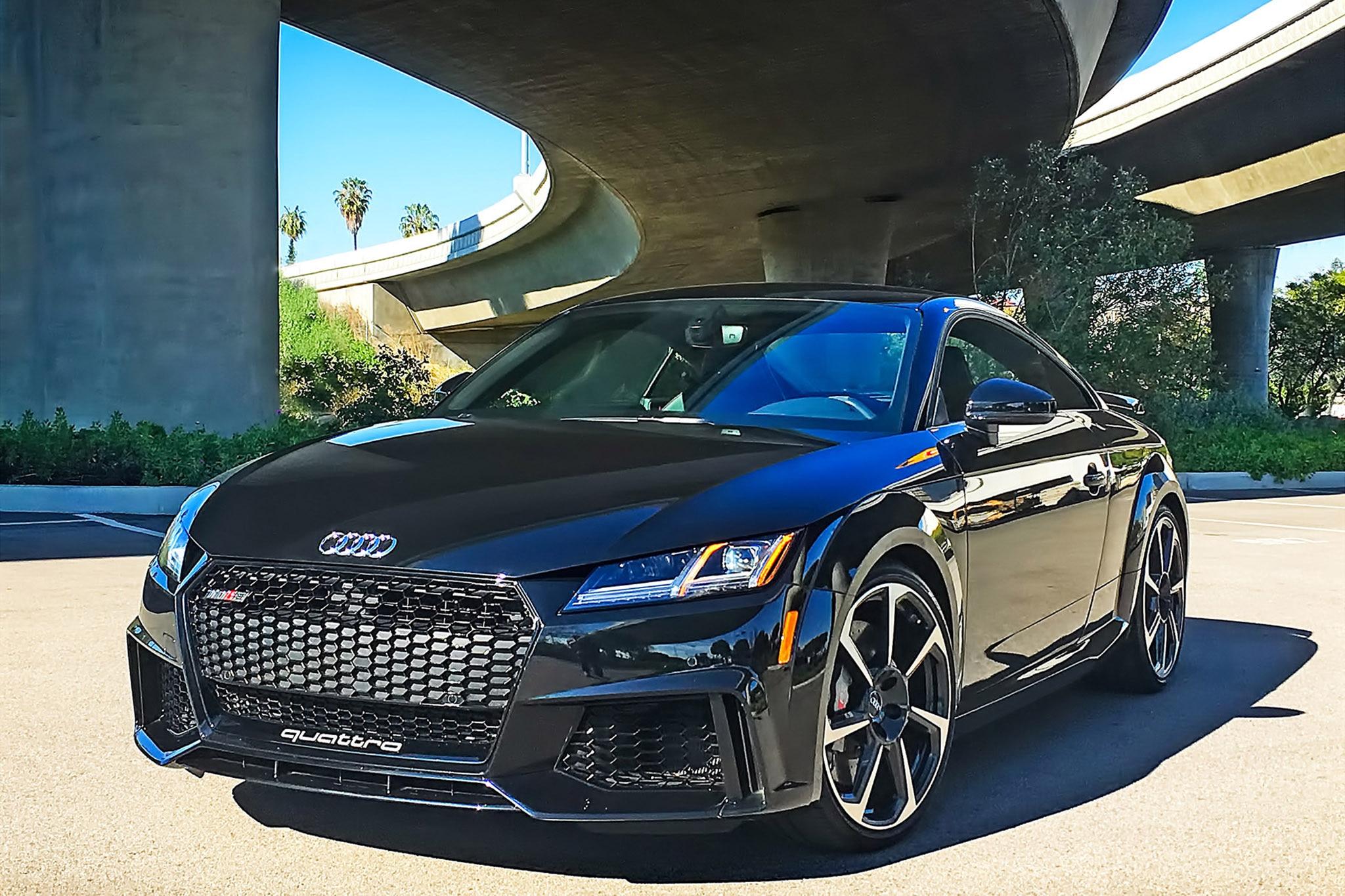 2018 audi tt rs one week review automobile magazine. Black Bedroom Furniture Sets. Home Design Ideas