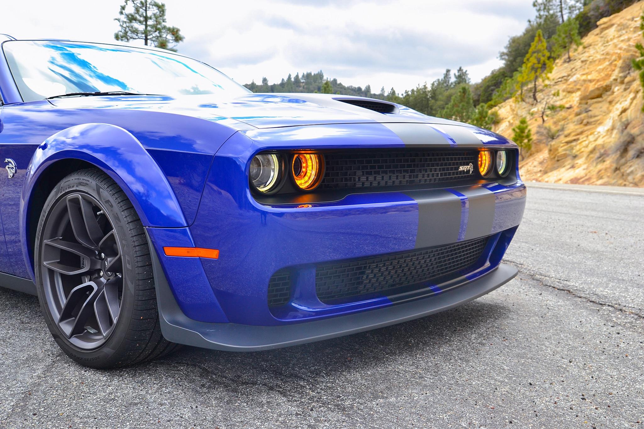 dodge challenger srt hellcat widebody  week review automobile magazine