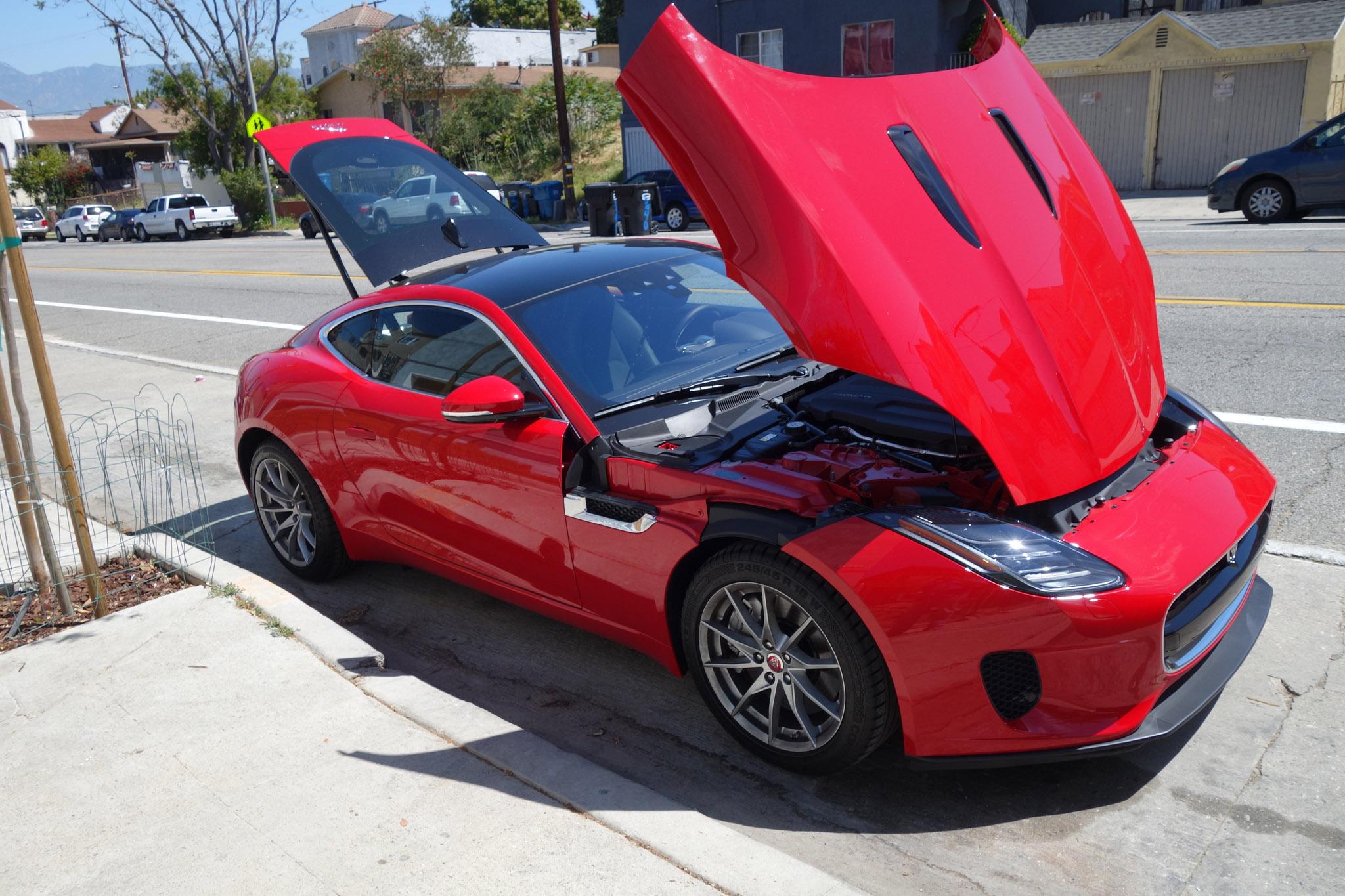 2018 jaguar f type coupe quick take review automobile. Black Bedroom Furniture Sets. Home Design Ideas