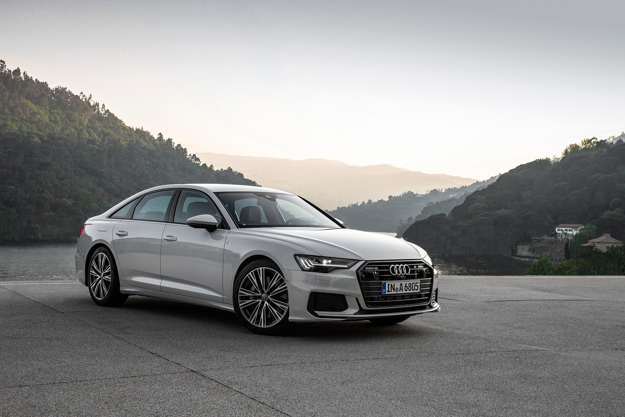 2019 audi a6 first drive review automobile magazine. Black Bedroom Furniture Sets. Home Design Ideas