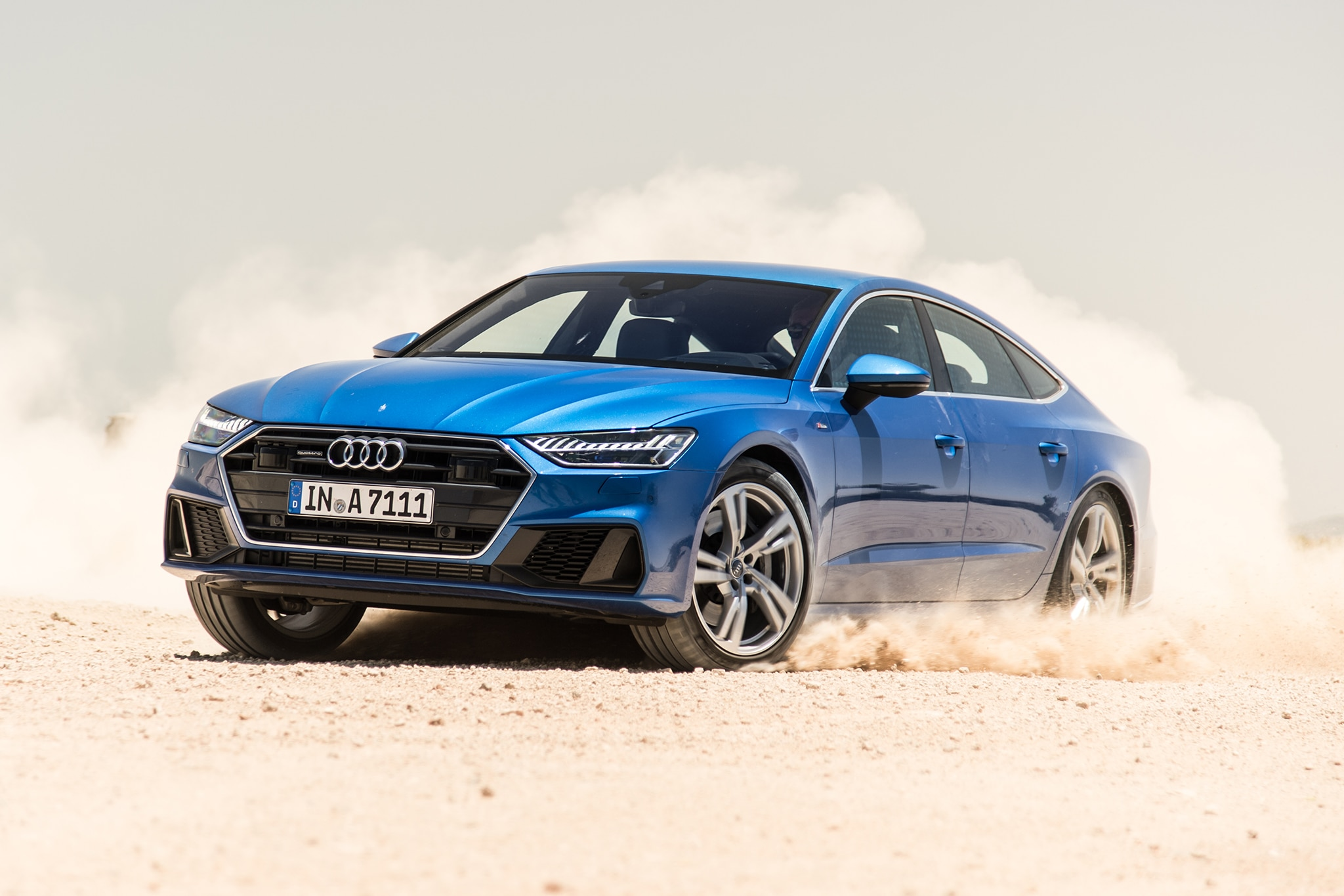 The 2019 Audi A7 Sportback Goes To Lüderitz