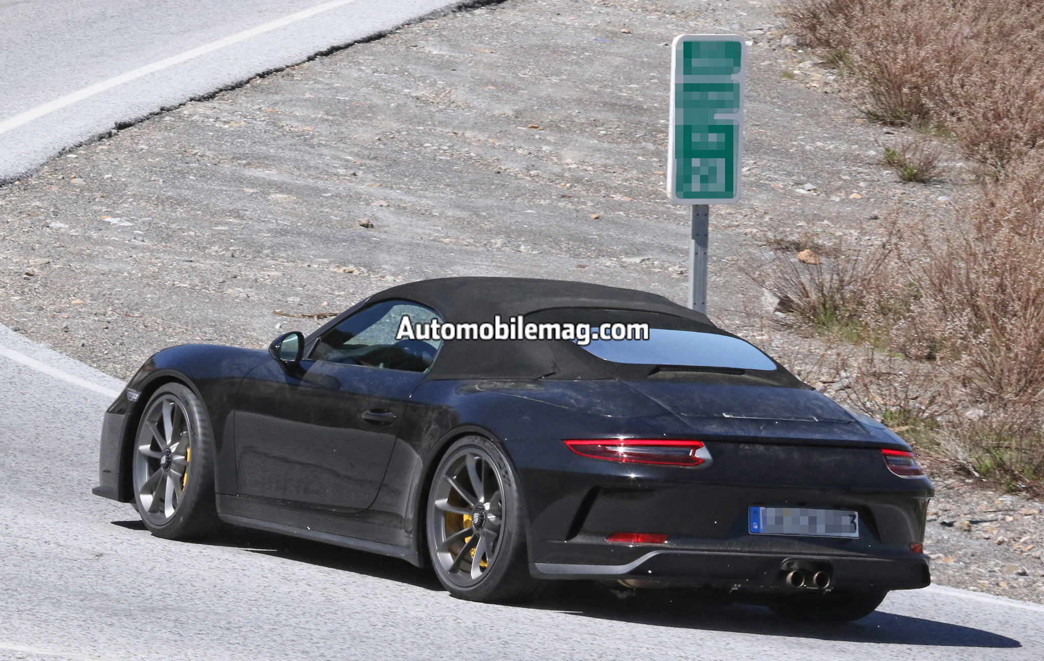 Porsche 911 Speedster 10