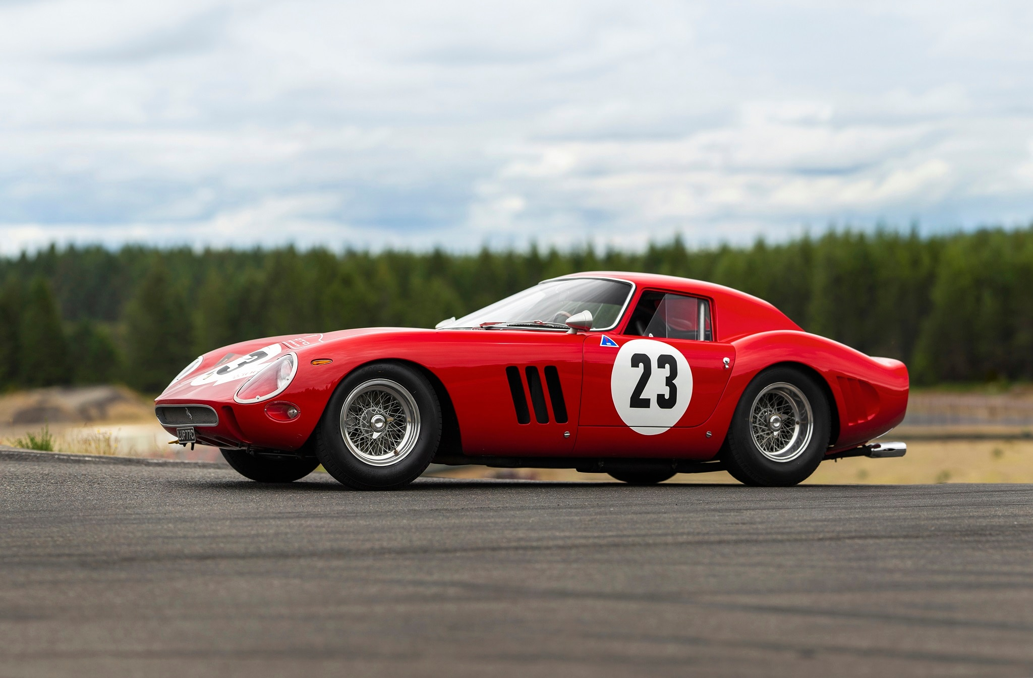 Ferrari 250 GTO on auction for 60 million