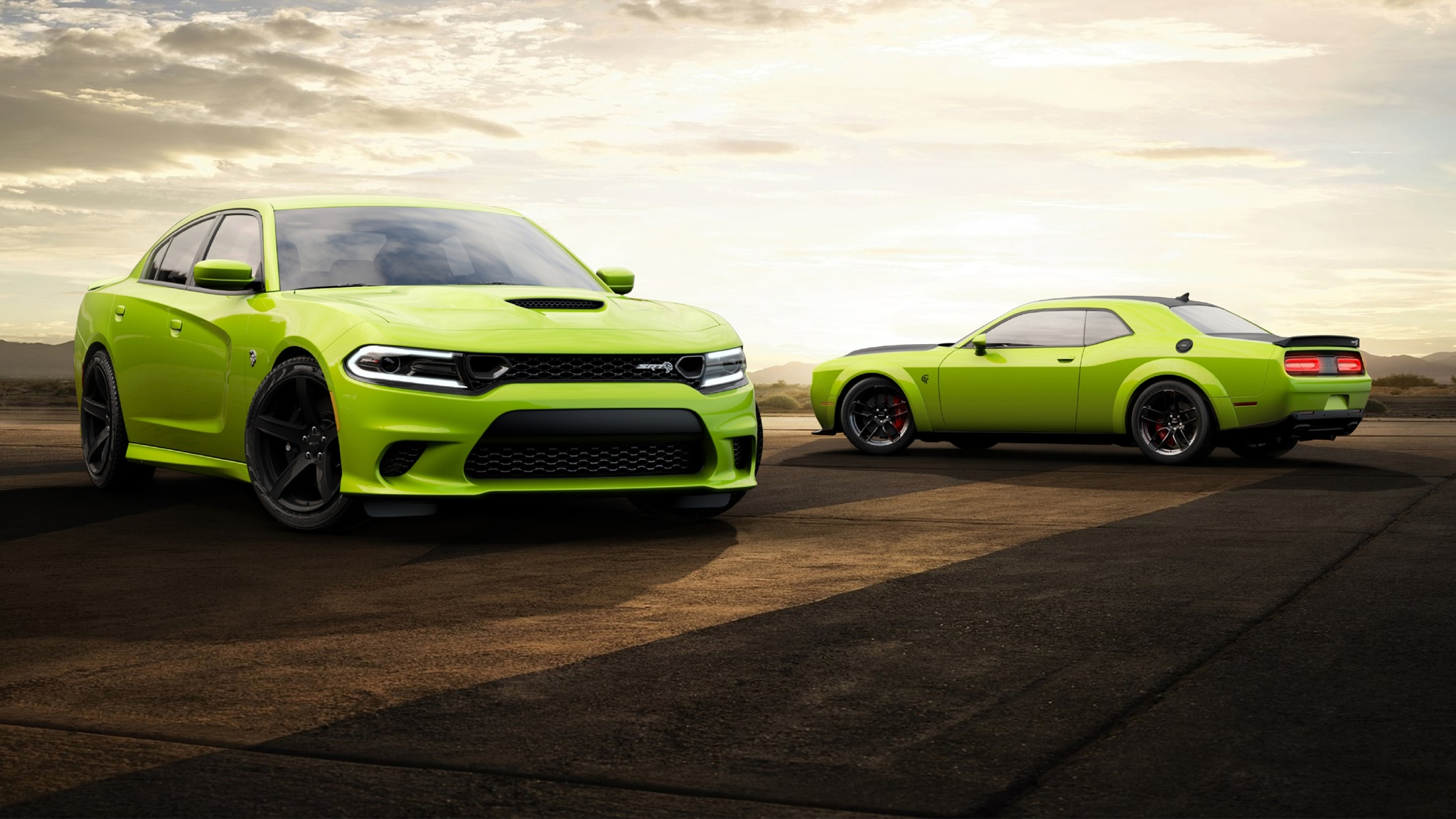 the dodge challenger and charger are sublime�again