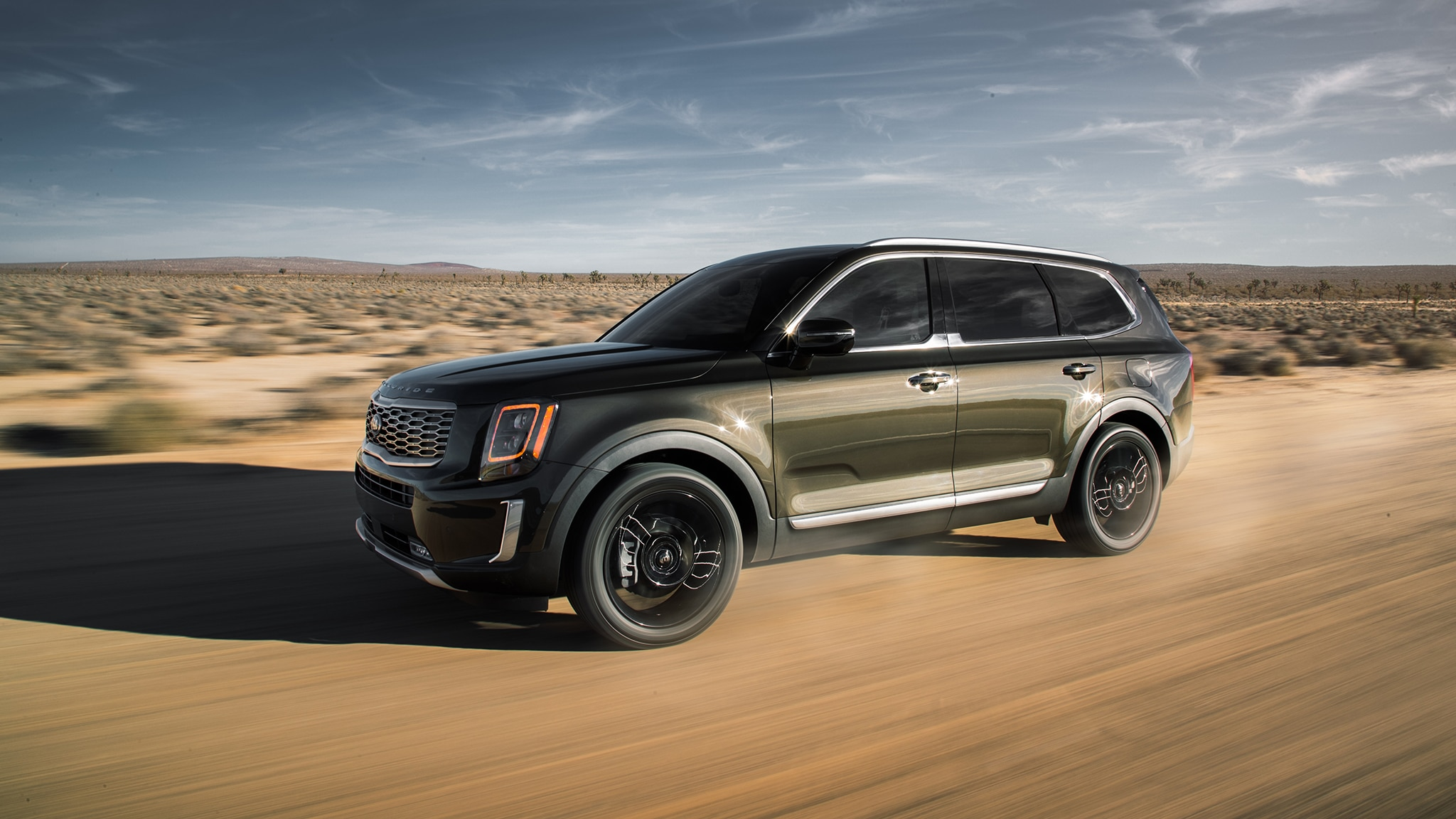 The 2020 Kia Telluride Is A Handsome Three Row Suv With