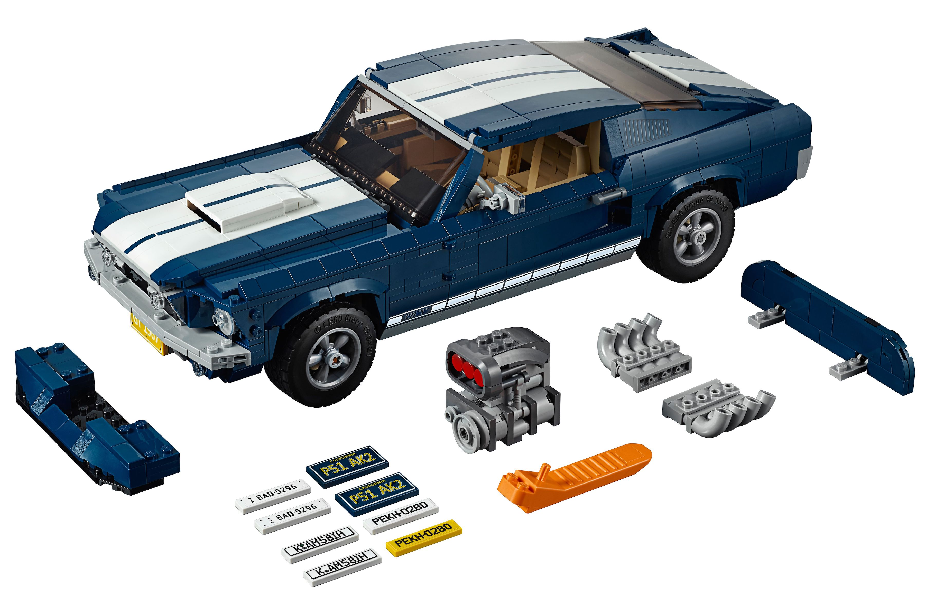 Want Legos 1471 Piece 1967 Ford Mustang Fastback Kit Is Sweet
