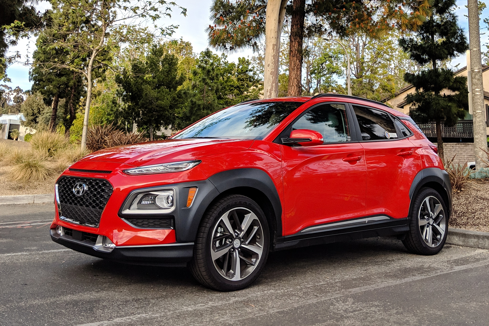 2019 hyundai kona ultimate review a hatchback in disguise automobile magazine. Black Bedroom Furniture Sets. Home Design Ideas