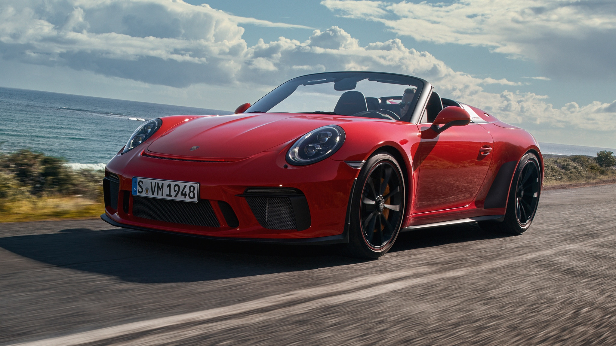 The Production 2019 Porsche 911 Speedster Is Here And It