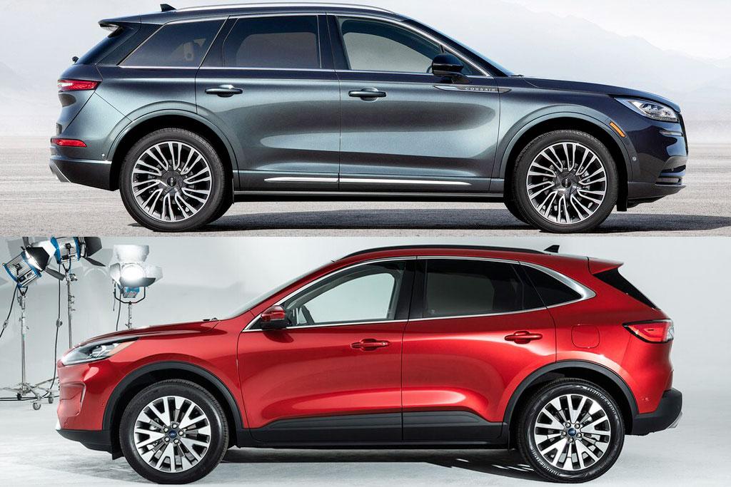 ford escape  lincoln corsair corporate cousins compared automobile magazine