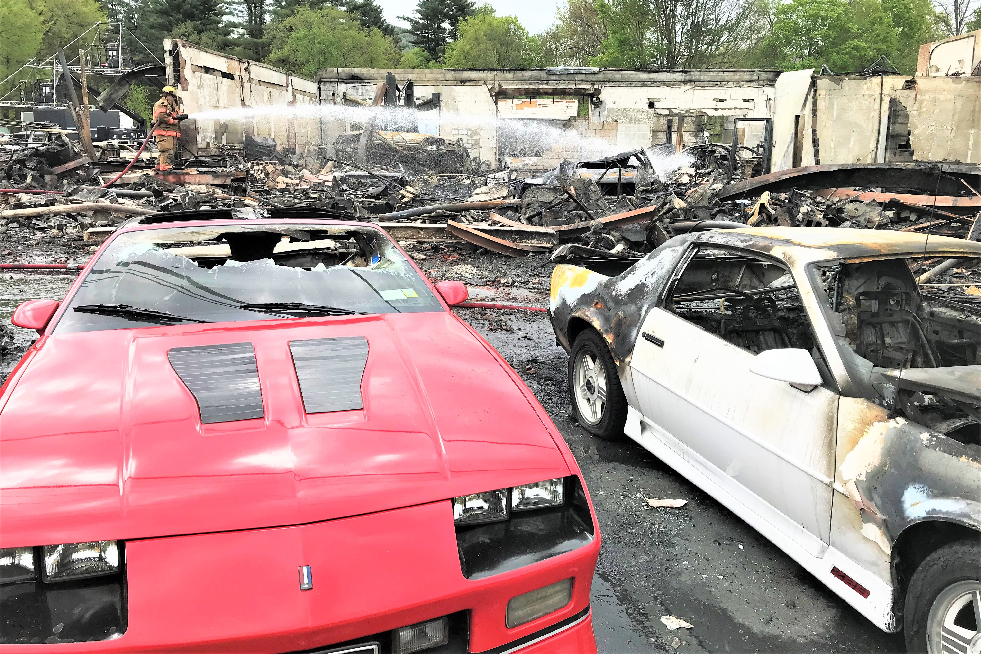 Car Dealerships In Norman Ok >> Pristine Vintage Chevrolets Incinerated in Fire on HBO ...