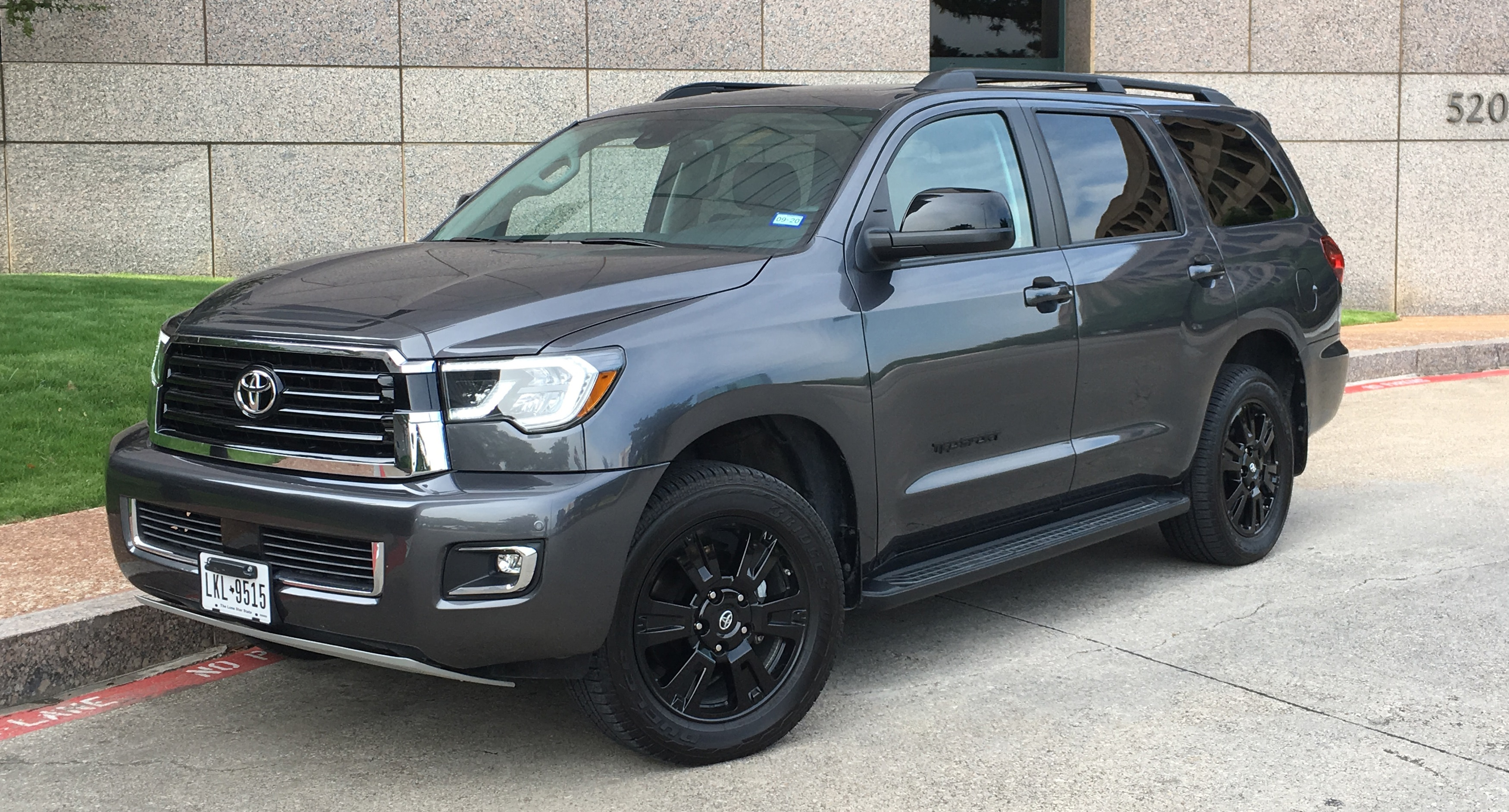 2019 Toyota Sequoia Redesign And Price >> 2019 Toyota Sequoia Trd Sport Review Dated Night Automobile Magazine