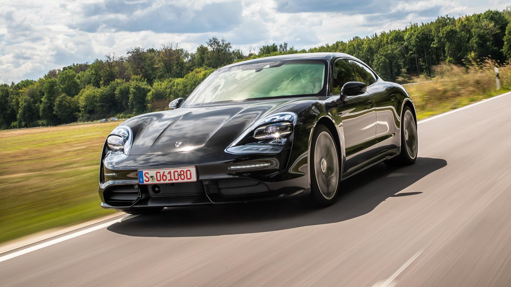 2020 Porsche Taycan Ev Review We Drive The Tesla Fighter
