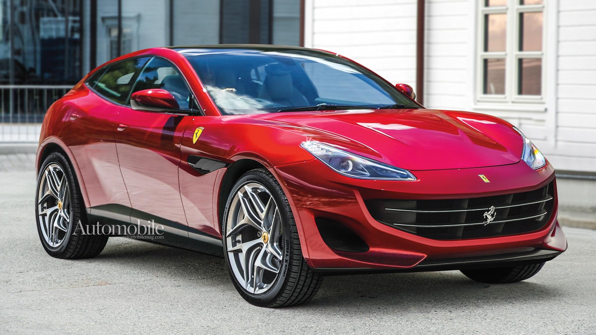 2022 Ferrari Purosangue SUV: Renderings + Rumors ...