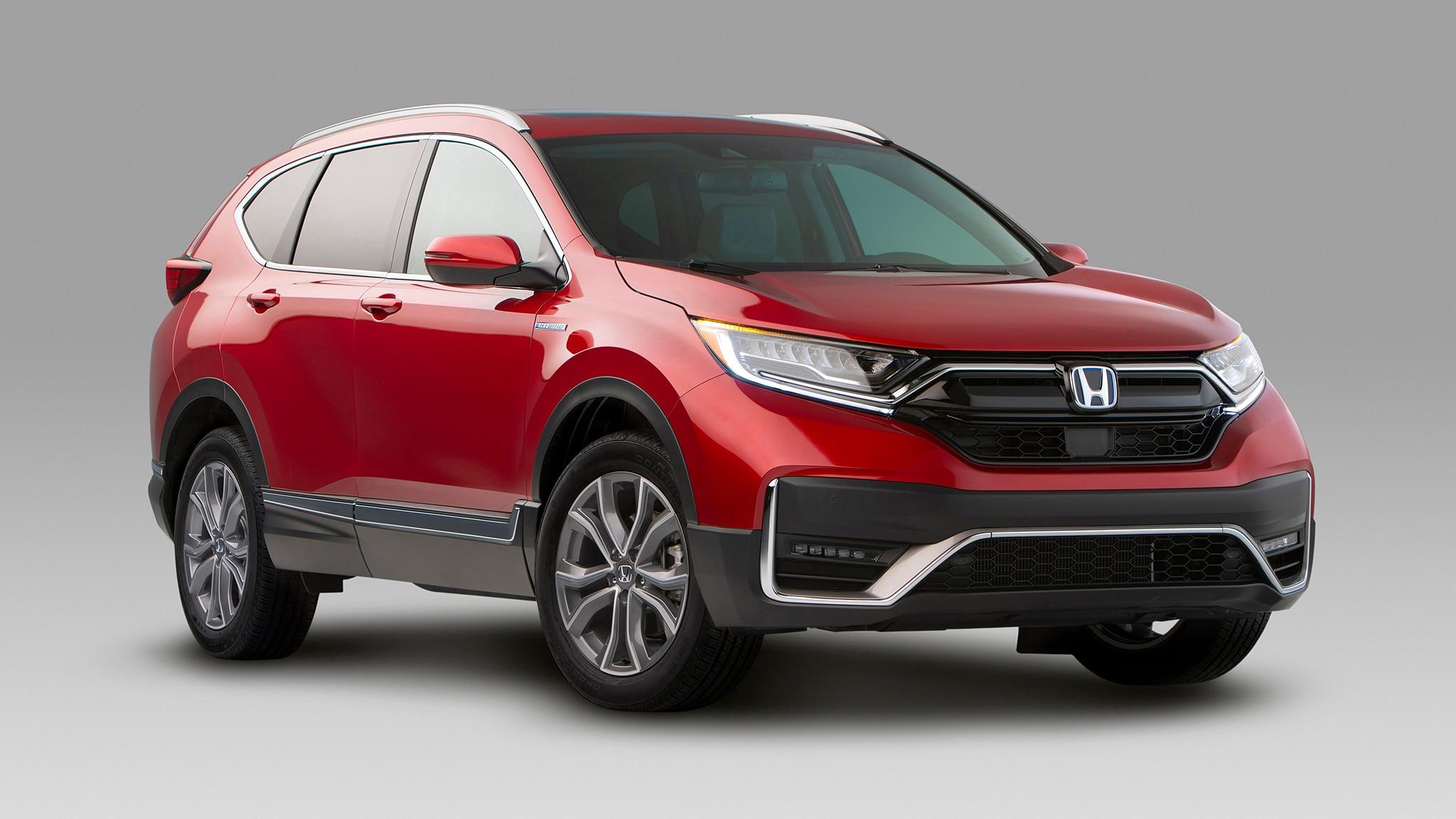 2020 honda cr-v adds hybrid model  drops one engine