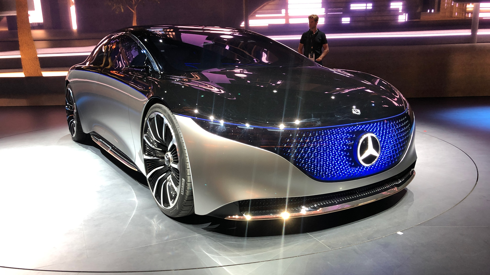 mercedes-benz eqs concept  paving the way to an electric s-class