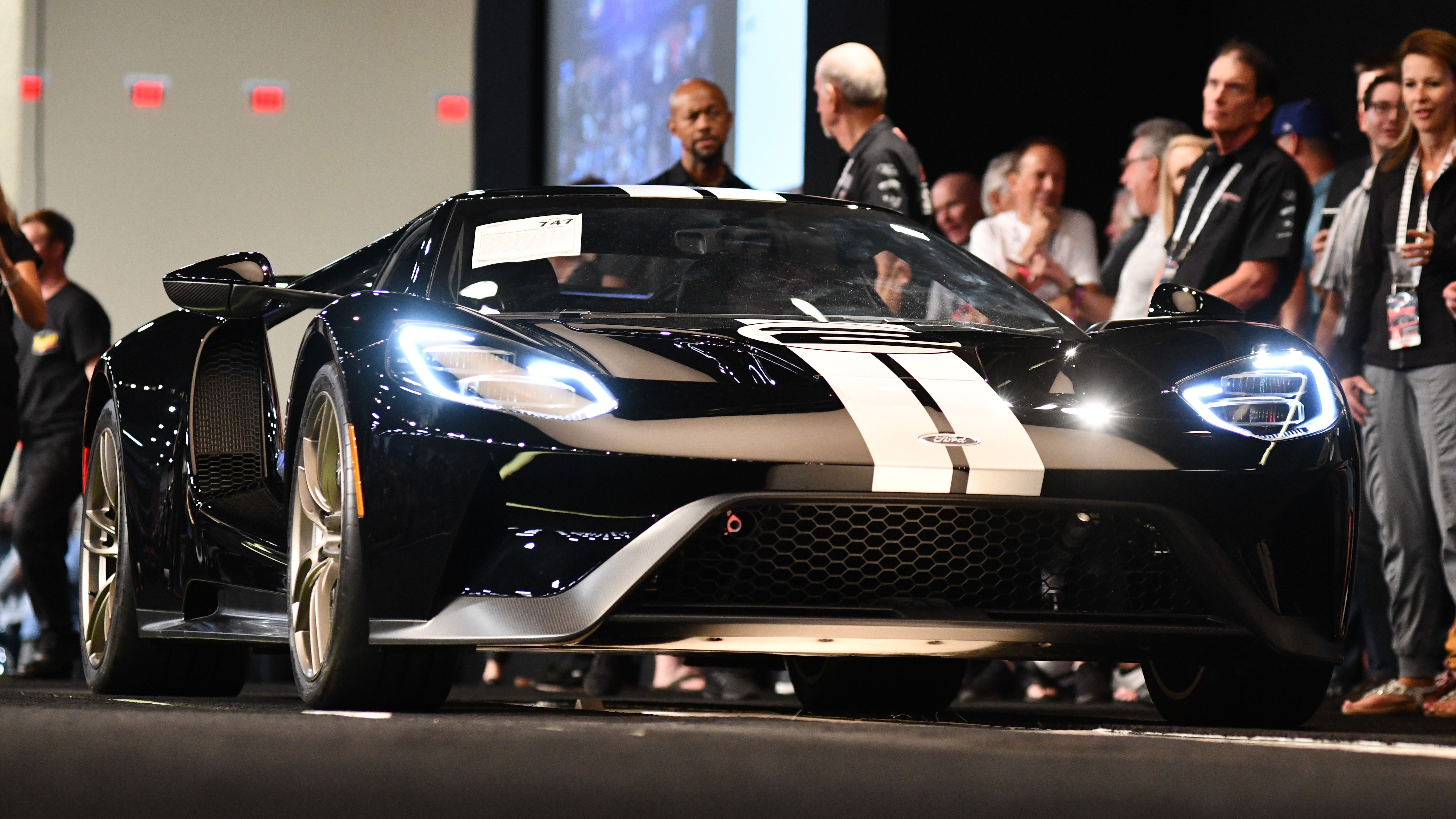 First 2017 Ford GT Off Sales Embargo Sells For $1.54 Million | Automobile Magazine