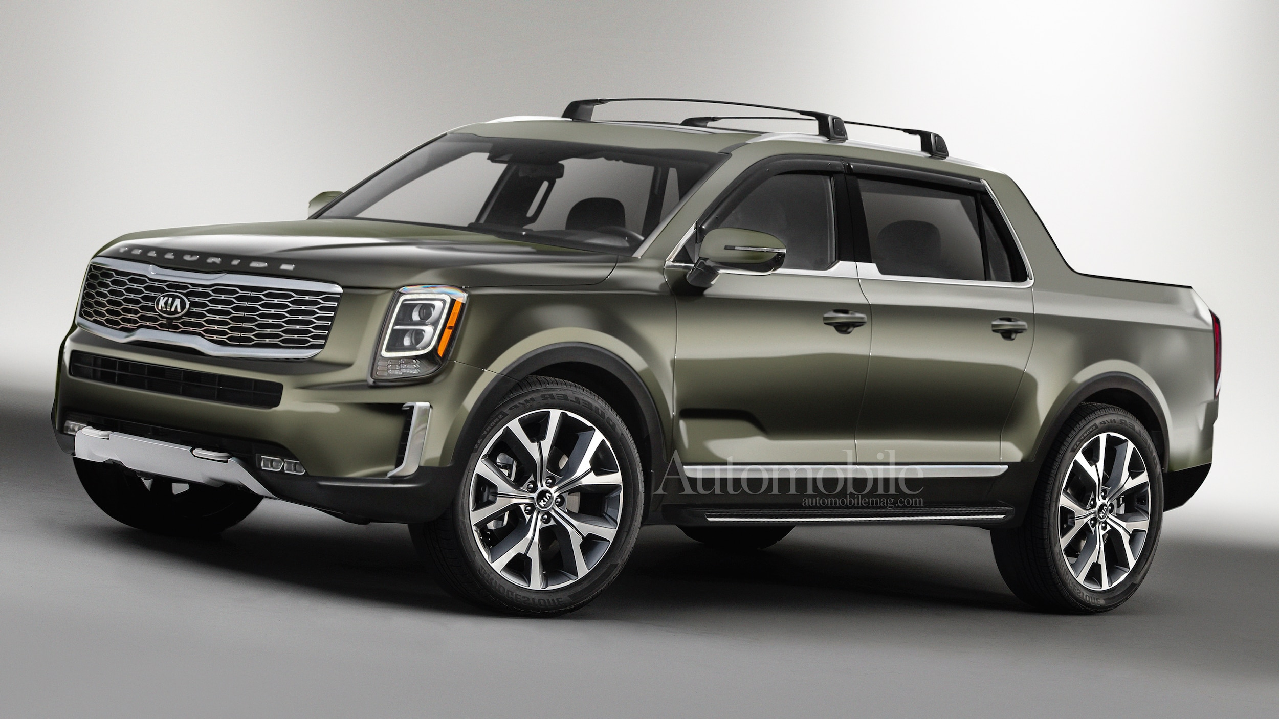 Kia Telluride Pickup Truck: Renderings + Rumors