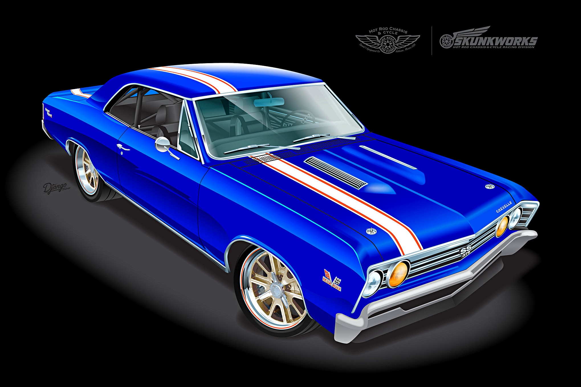 1967 Chevrolet Chevelle Pro Touring Modern Makeover With
