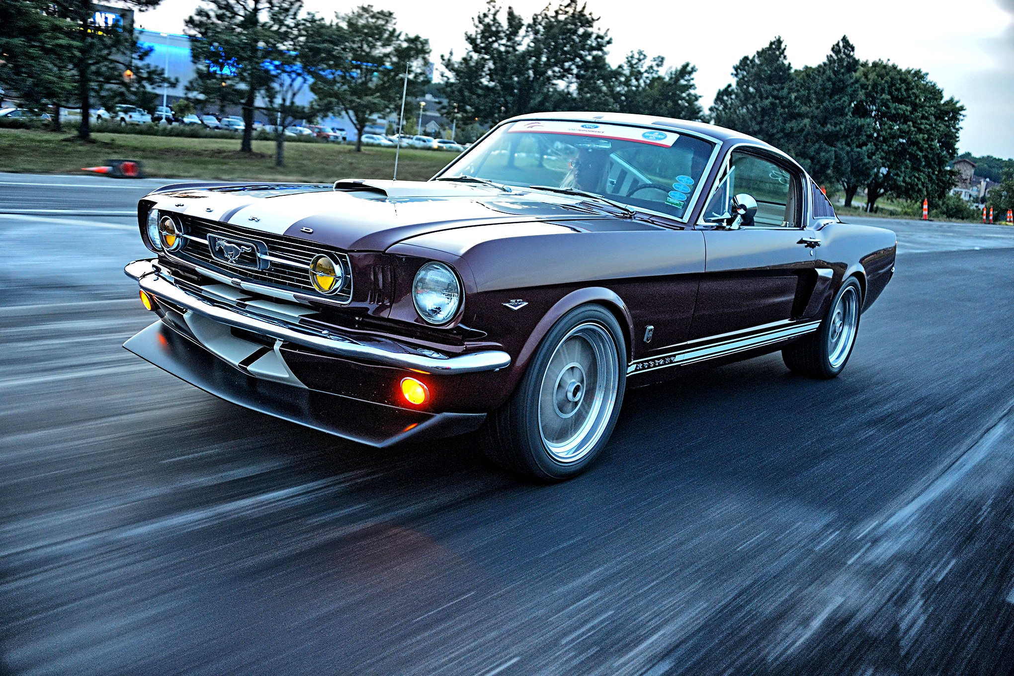 A Street/Track 1966 Ford Mustang Fastback with a Coyote Heart ...