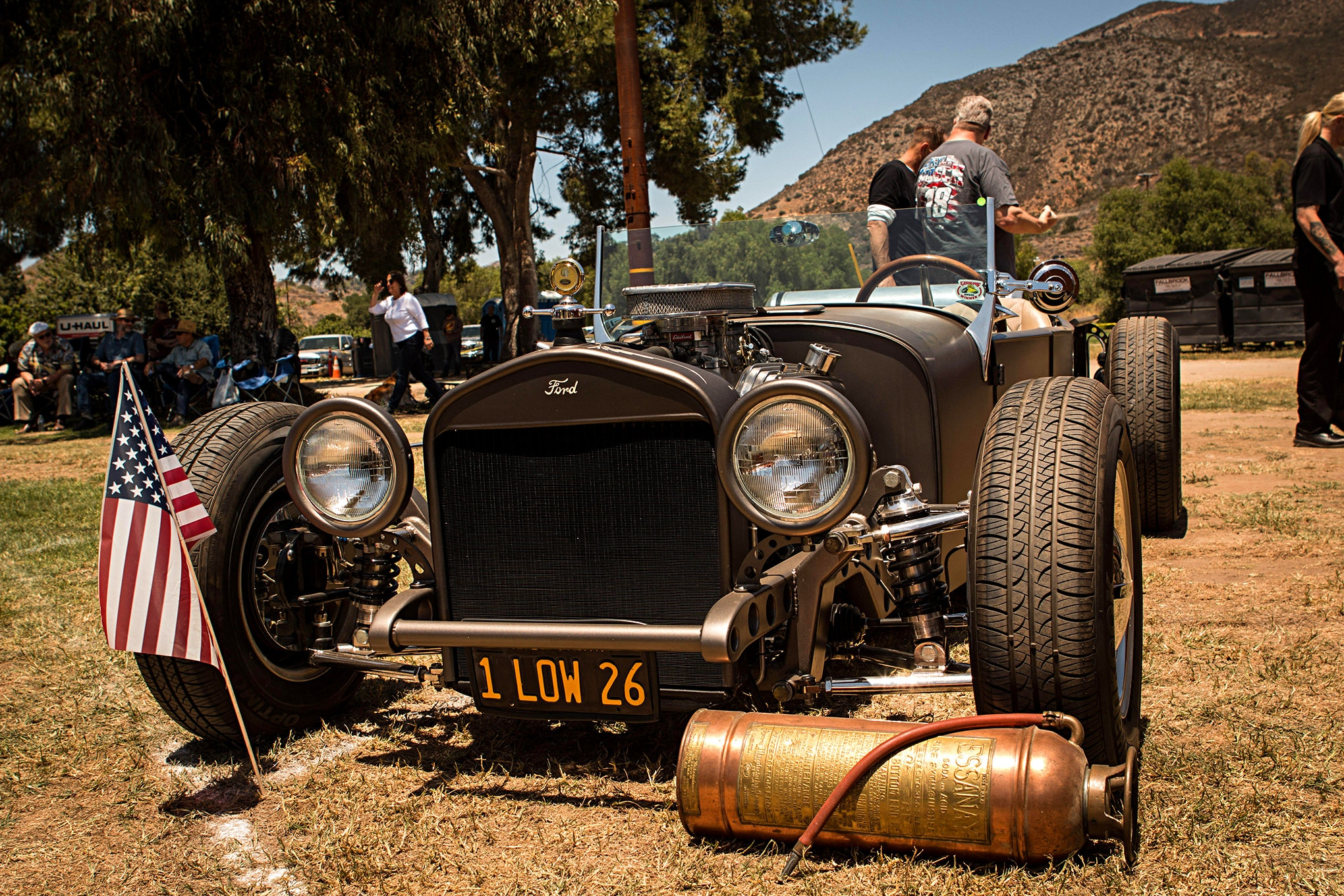 Pre-War Cars From The 2018 Fallbrook Car Show