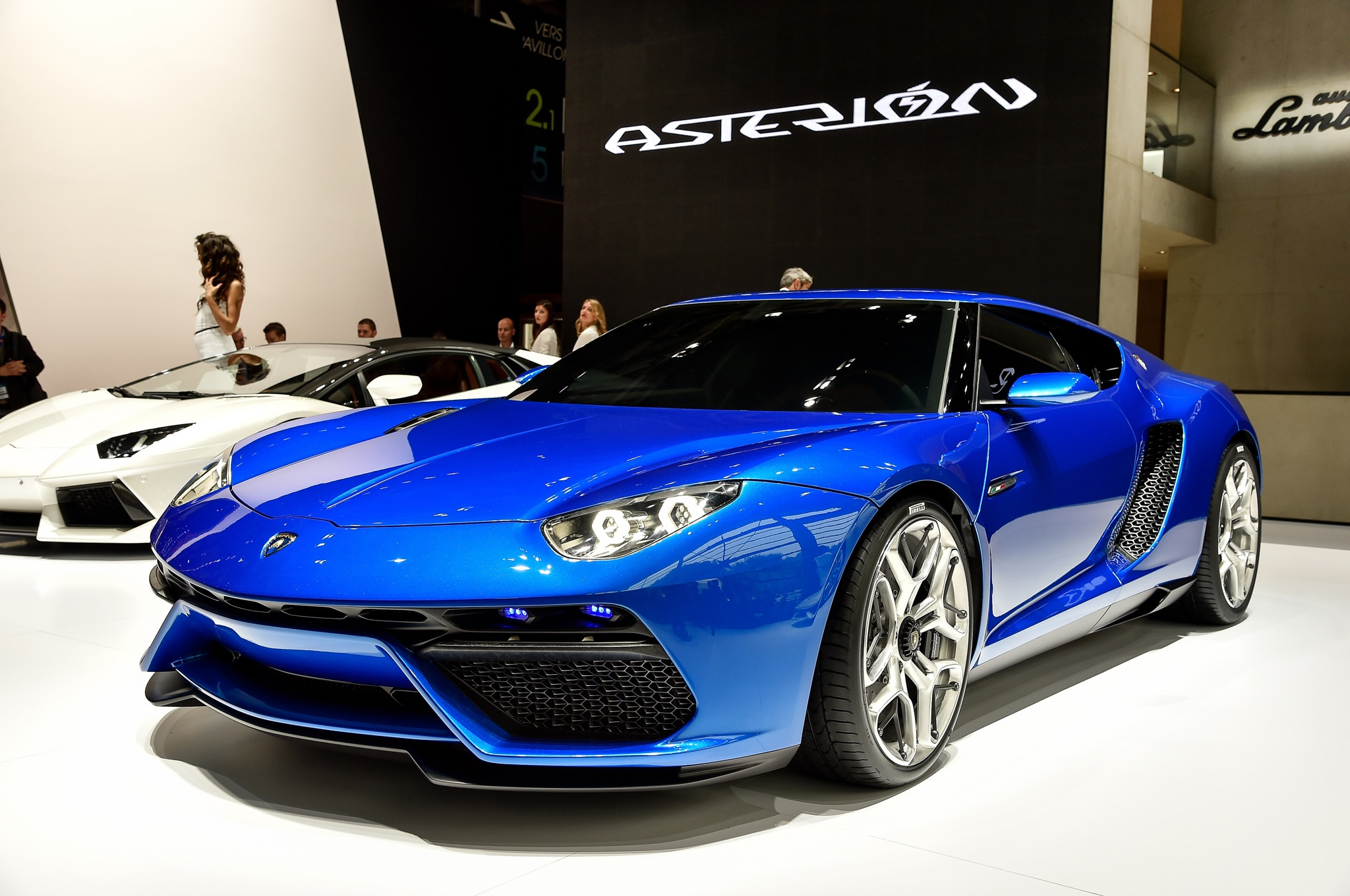 lamborghini 2016 concept. back in 2014 lamborghini did show off a hybrid supercar concept called the asterion shown above it made combined 897 hp could hit 60 mph less than 2016
