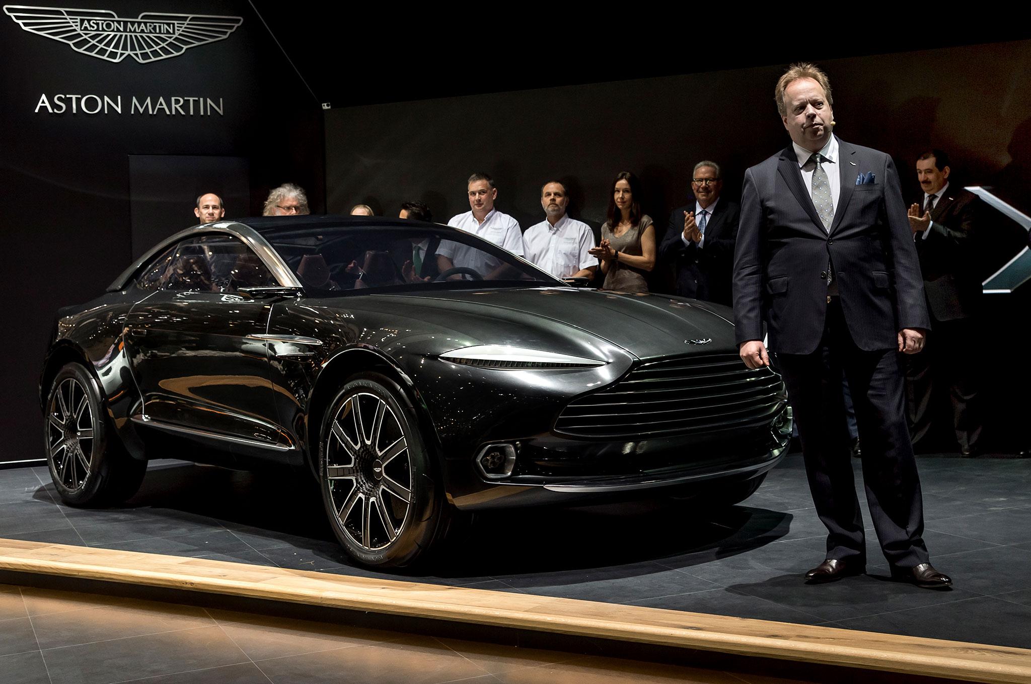 aston martin planning geneva motor show surprise | automobile magazine