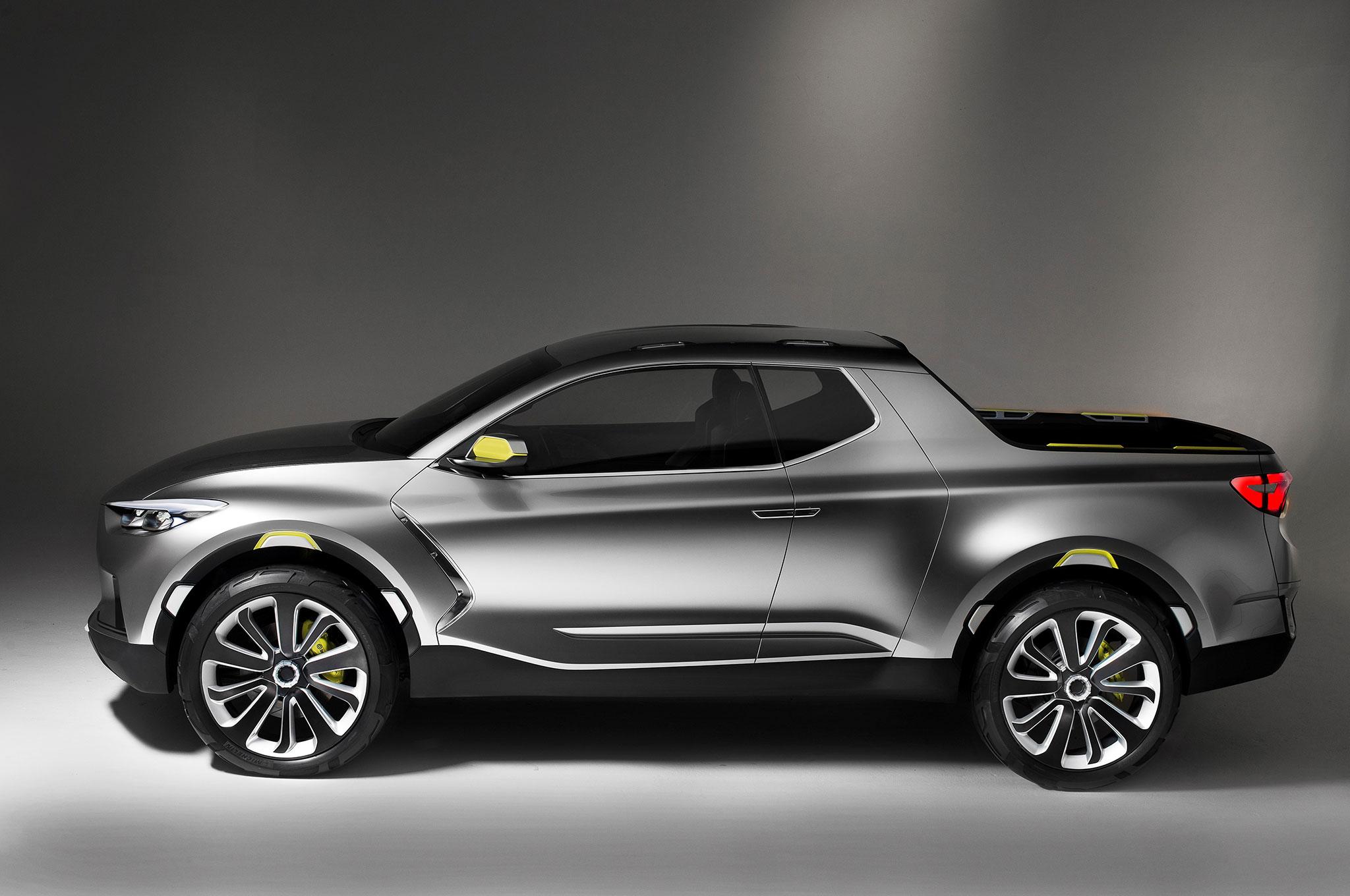 Hyundai Santa Cruz Crossover Truck Concept Profile