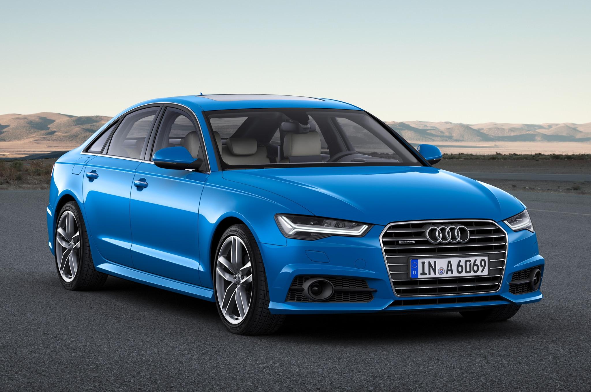 2017 Audi A6 European Spec Front Side View