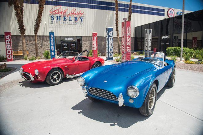 1962 Shelby AC Cobra CSX2000 Front three quarters 2