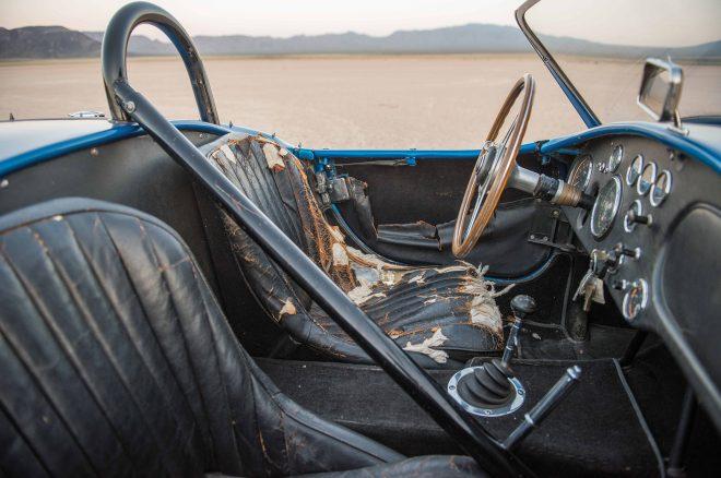 1962 Shelby AC Cobra CSX2000 interior