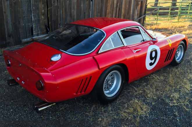 1963 Ferrari 330 LMB rear three quarters