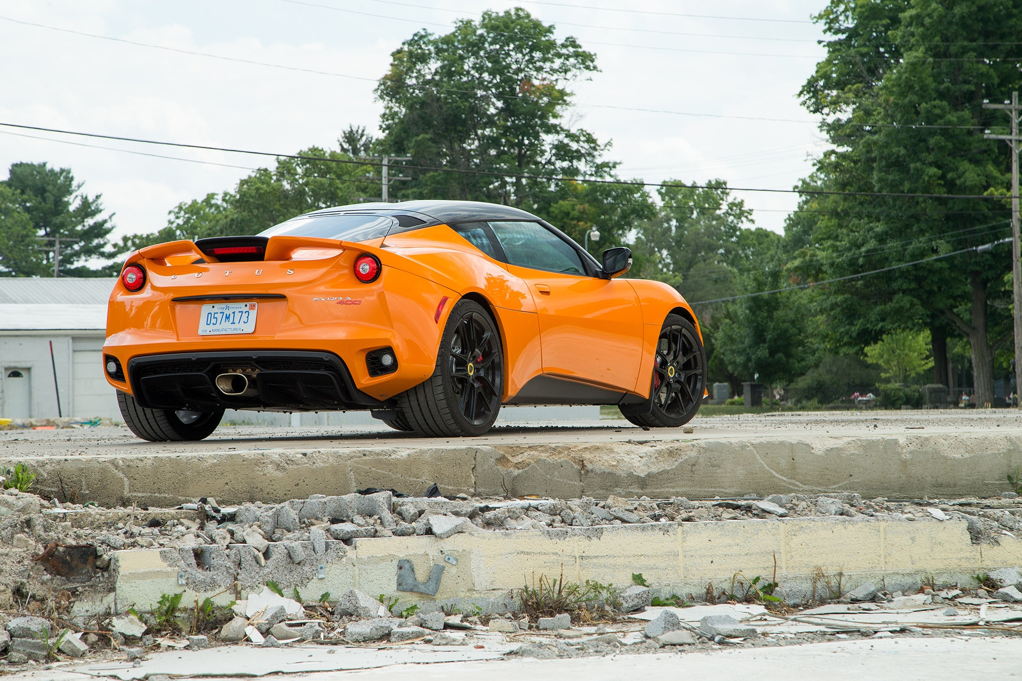 2017 Lotus Evora 400 Rear Three Quarter 04