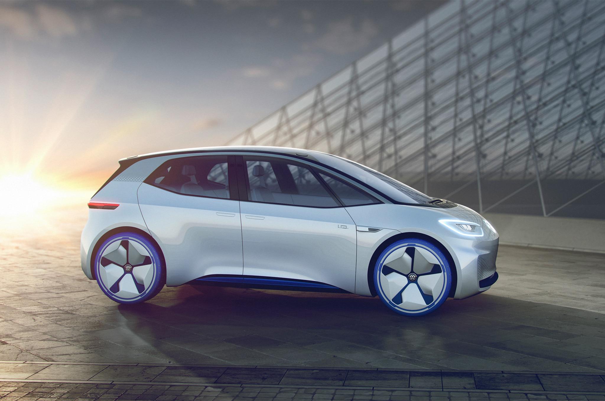 Volkswagen I D Concept Front Side Profile