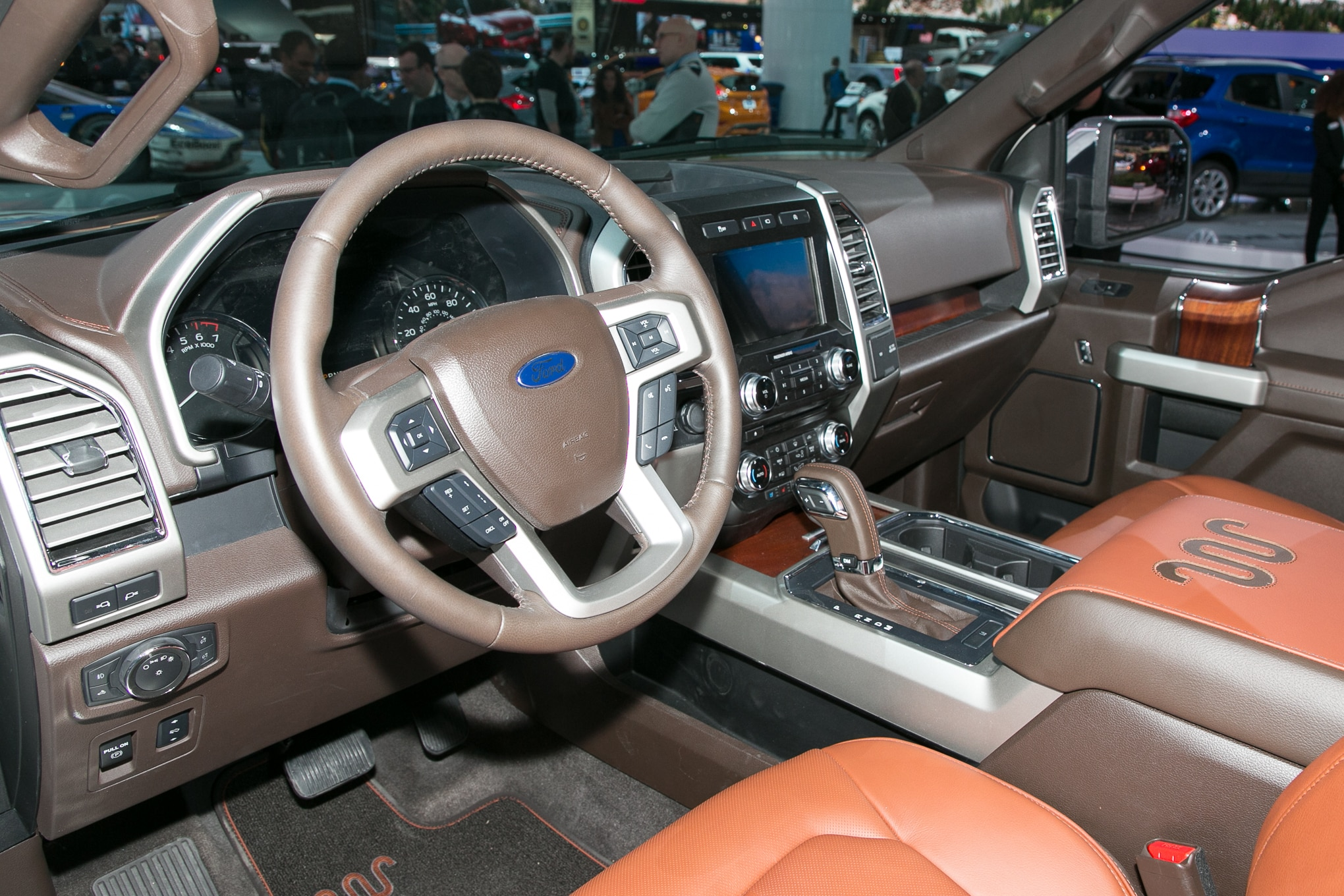 First drive 2018 ford f 150 automobile magazine - 2018 ford f 150 limited interior ...