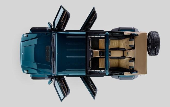 2017 Mercedes Maybach G 650 Landaulet Avove