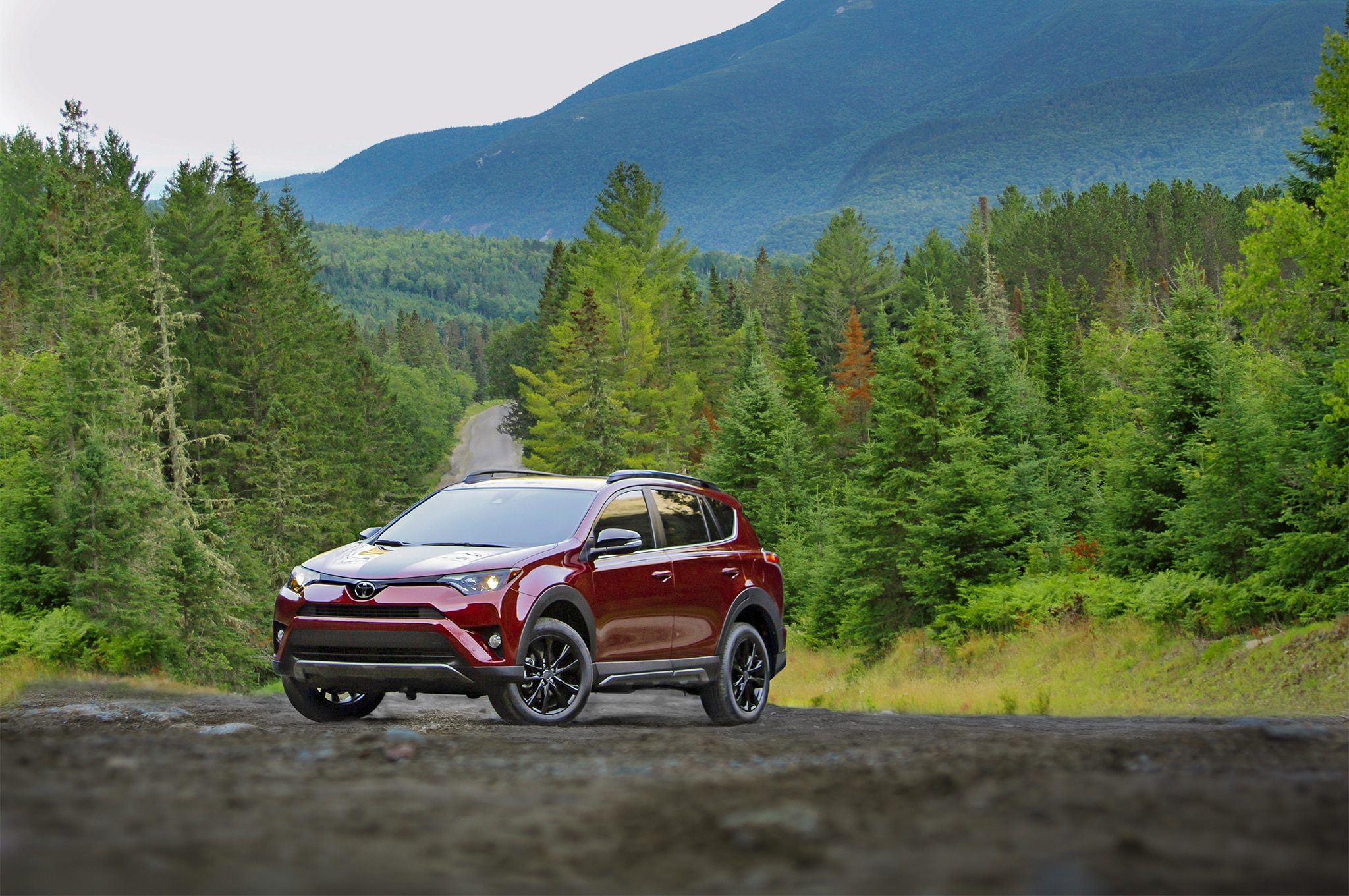 2018 Toyota RAV4 Adventure Front Three Quarter 02 1