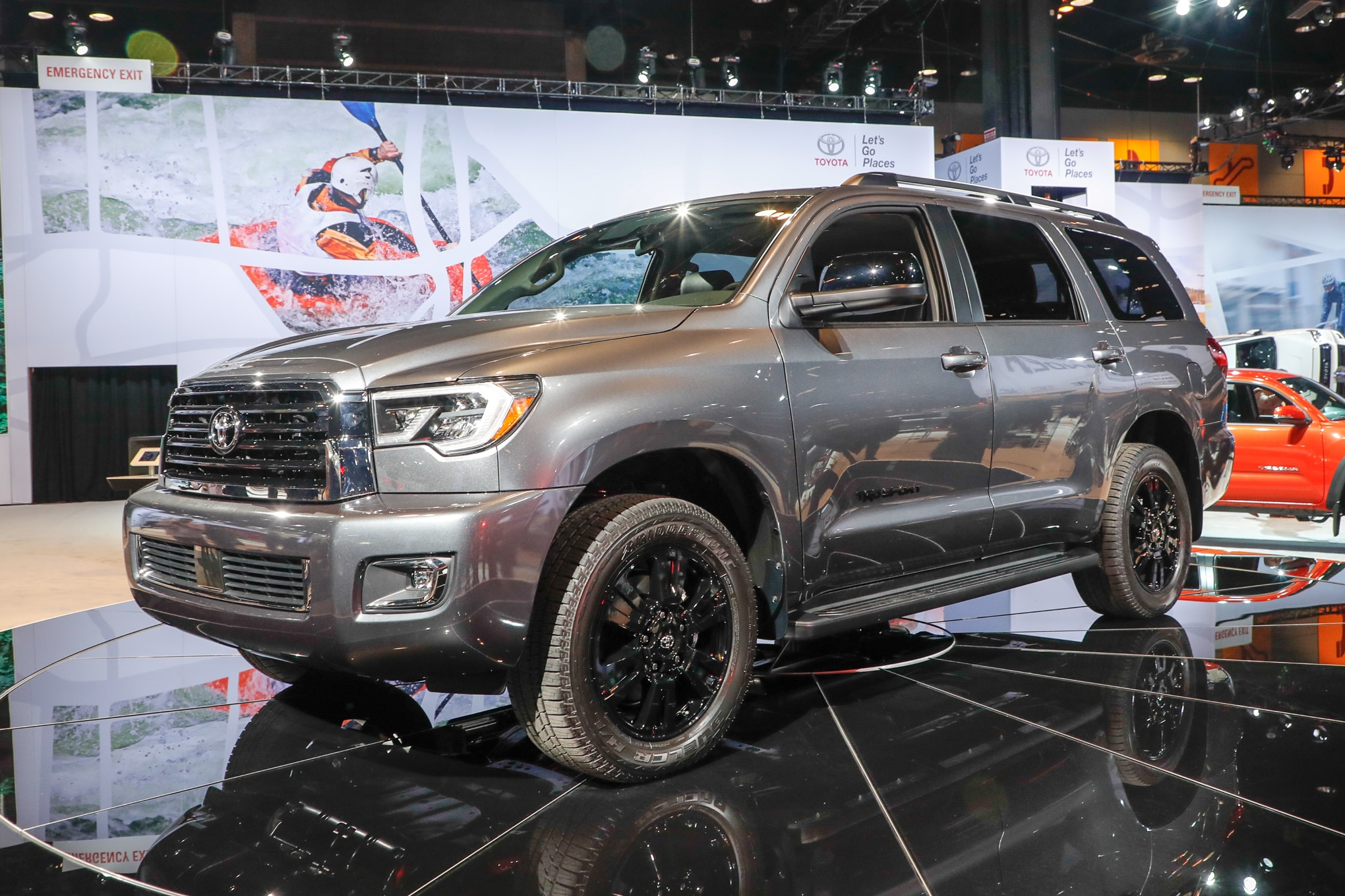 2018 Toyota Sequoia TRD Sport Front Three Quarter 1