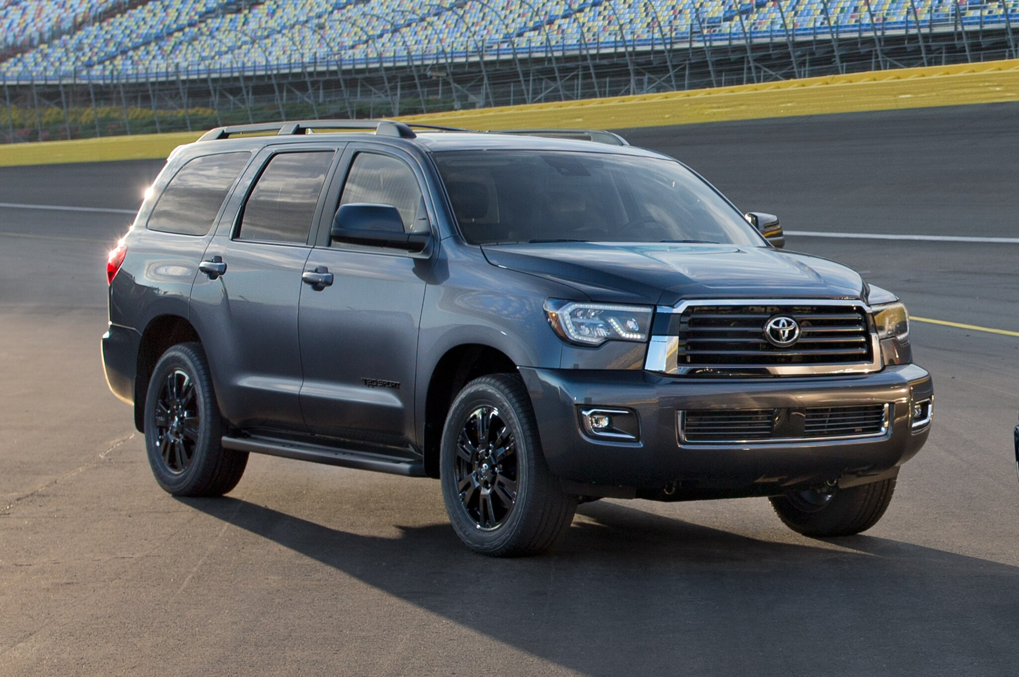 2018 Toyota Sequoia TRD Sport Front Three Quarter