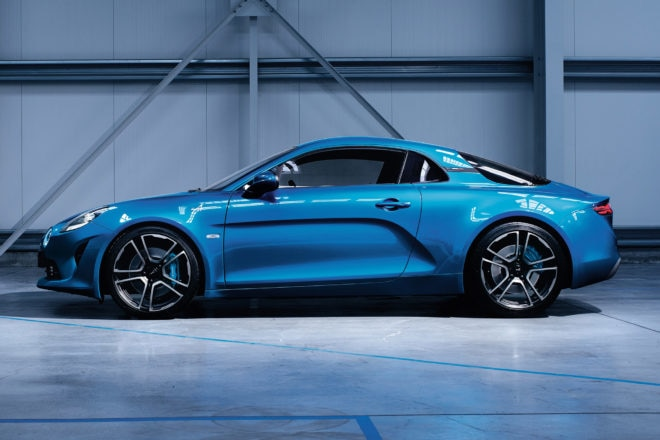 Alpine A110 Teaser Side 1
