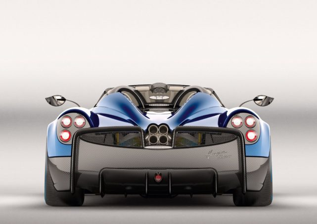 Pagani Huayra Roadster Rear