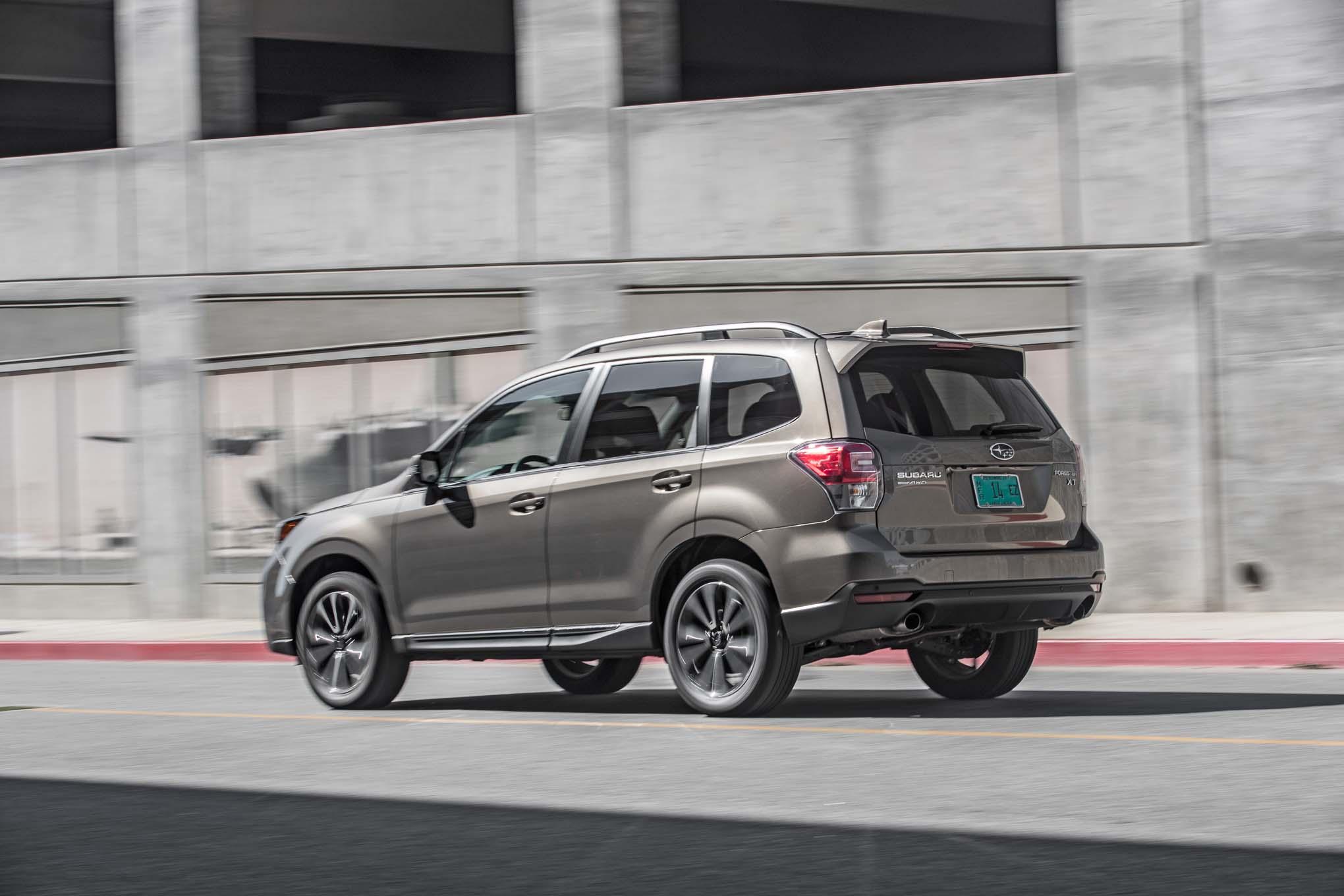 Subaru Outback Vs Forester >> Subaru to Debut 50th Anniversary Limited Edition Models | Automobile Magazine