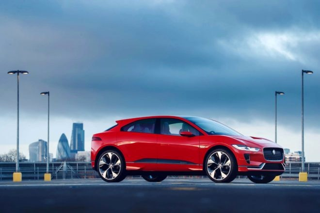 Jaguar I Pace concept front three quarters