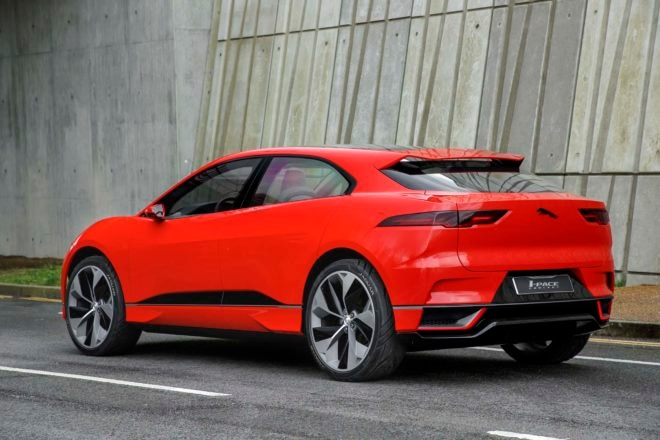 Jaguar I Pace concept rear three quarter