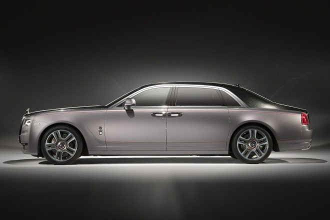 Rolls Royce Ghost Extended Wheelbase Side