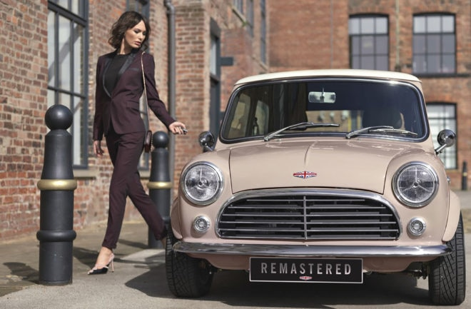 2 David Brown Automotive Mini Remastered Front