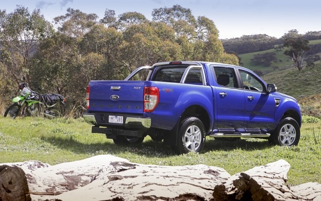 2012 Global Market Ford Ranger rear three quarters