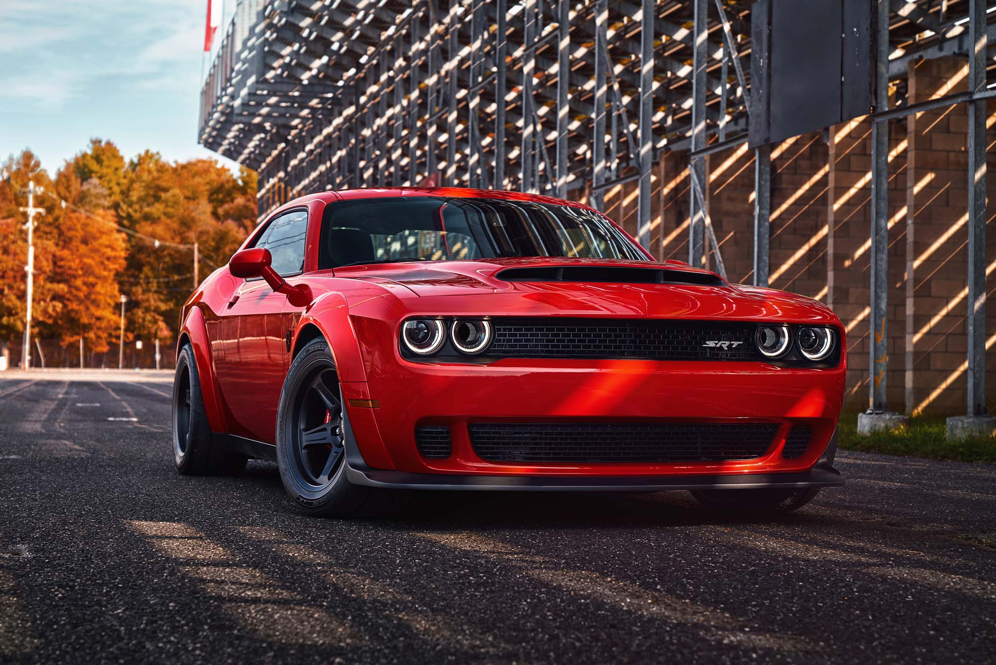 dodge challenger demon so fast you have to sign a waiver to buy it automobile magazine. Black Bedroom Furniture Sets. Home Design Ideas