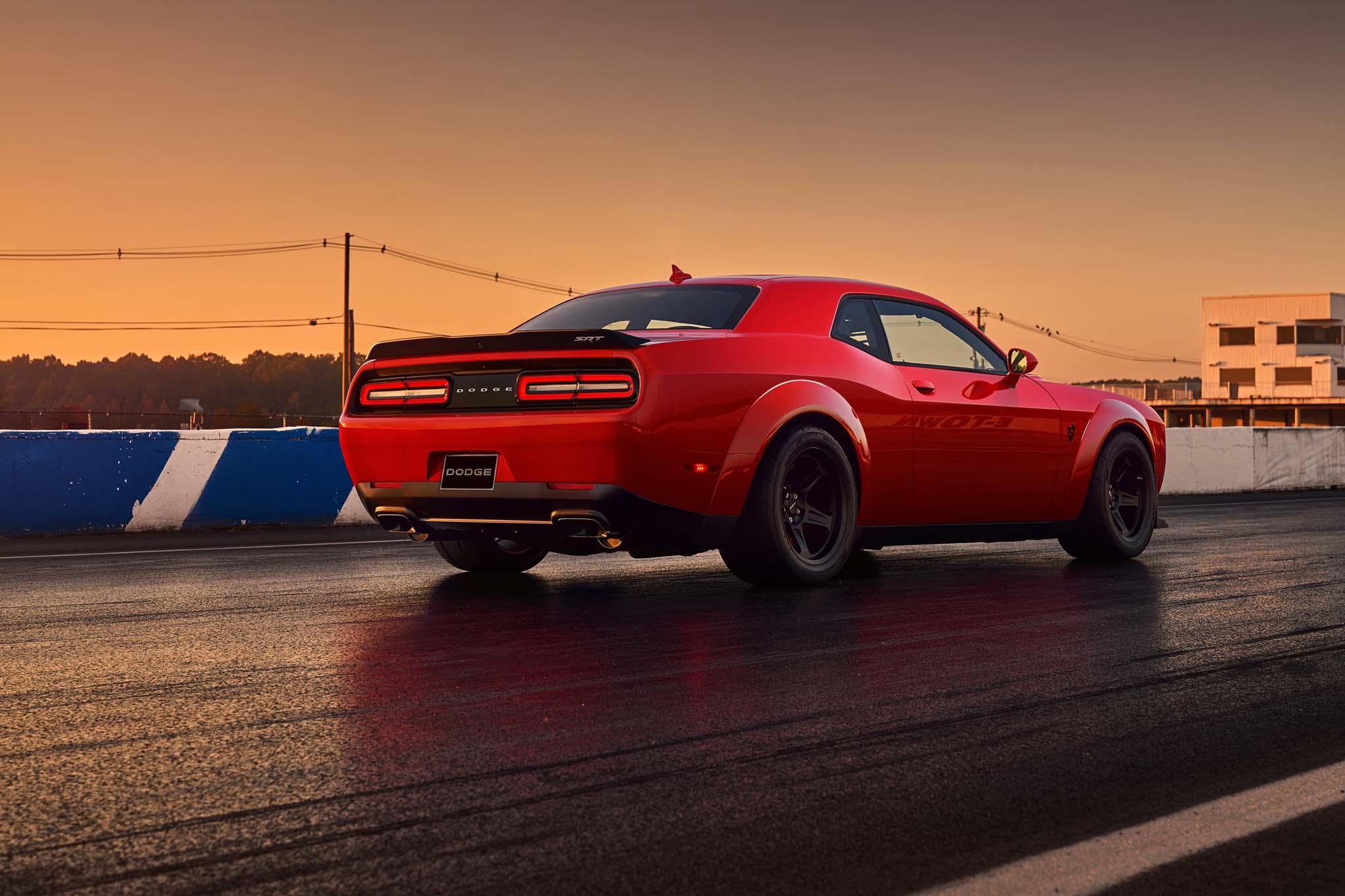 2018 Dodge Challenger SRT Demon Gets Its Own Insurance ...